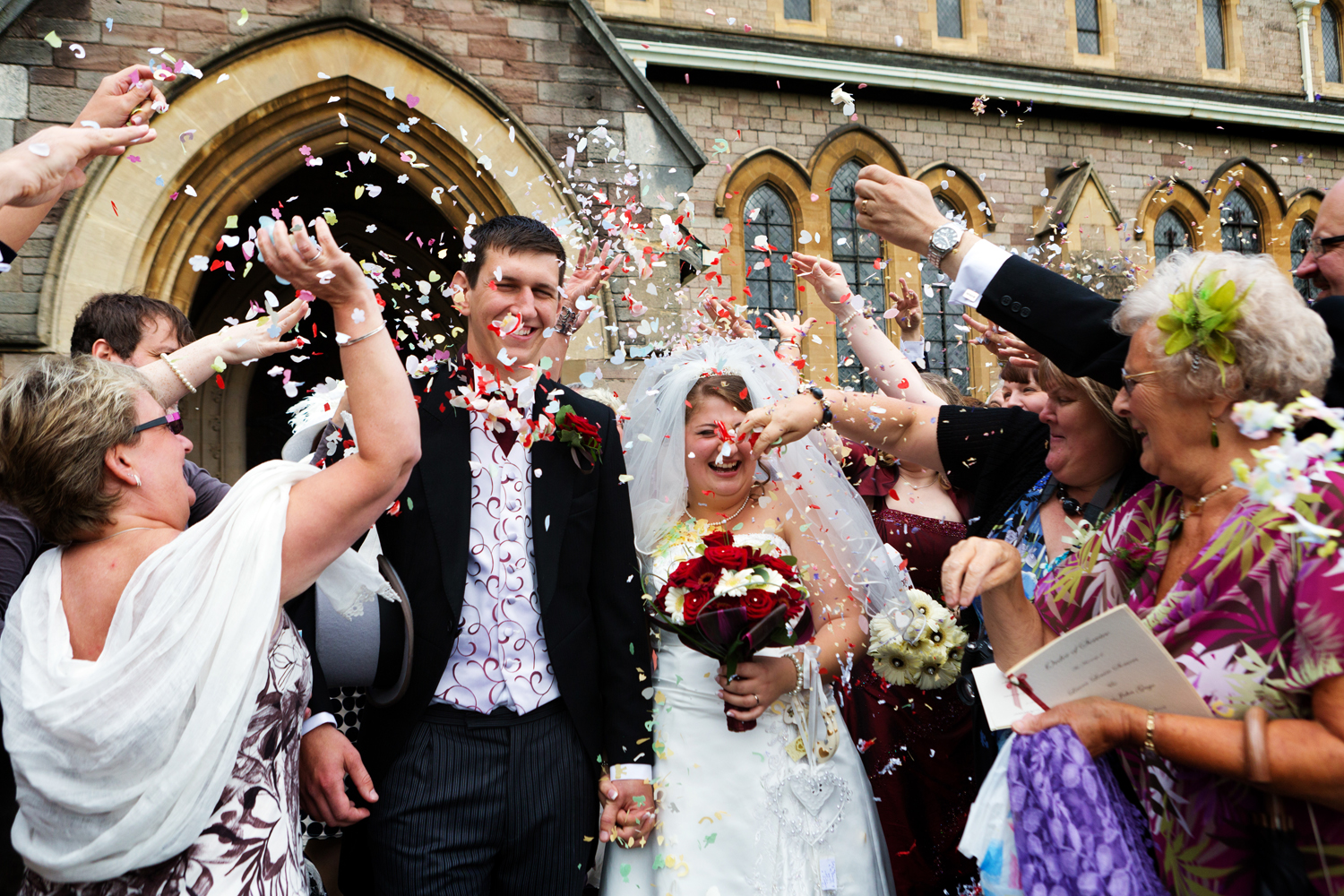 Confetti Wedding Photography Getting The Best Shot