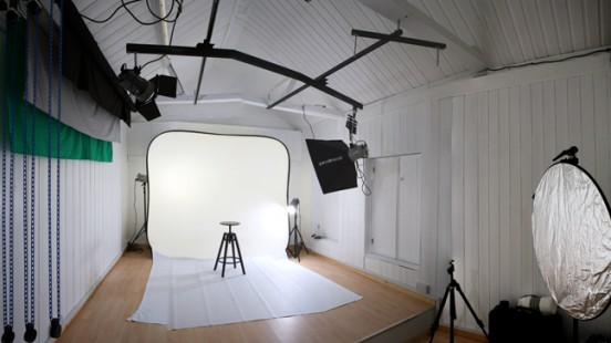 My Photography studio in Kidderminster, Worcestershire