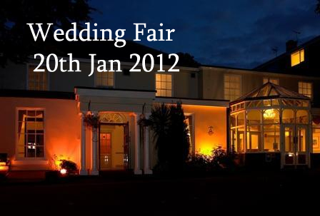 Wedding fair at Gainsborough House Hotel, Kidderminster, Worcestershire